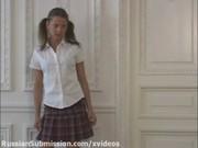 Порно видео с русскими красивой студенткой