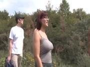 Случайный секс на природе по русски